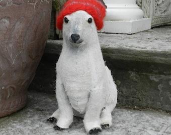 Polar Bear - Art Shoe Sculpture