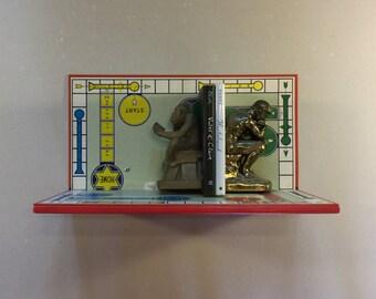 Upcycled Sorry Boardgame Shelf