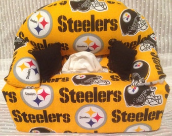 Tissue Box Couch Cover Steelers