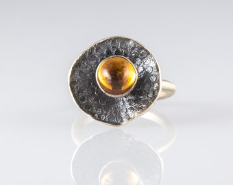 Black Lilly with Citrine
