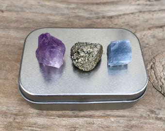 Crystal Magnets Tin Small