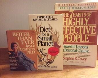 3 Revolutionary Books, Self-Help, Wellness, Nutrition