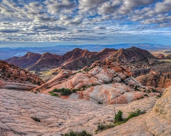Candy Land Morning - Utah, Desert, Sunrise, Landscape, Wilderness, Candy, Red Rock, Metal, Print, Photography, Fine Art