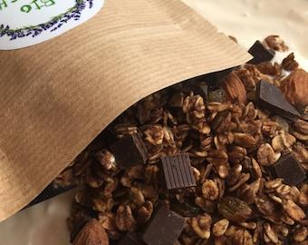 Choco Granola with Belgian chocolate!