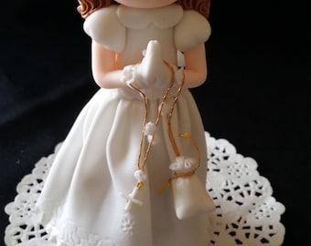 FIRST COMMUNION BOY, Baptism  Favor, First Communion Cake Topper, Communion Girl Cake Tooper, Baptism Cake Topper, Boy Baptism Favor