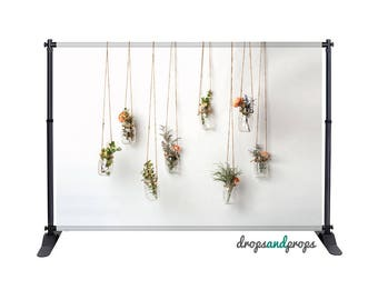 Hanging Flowers - Photography Backdrop