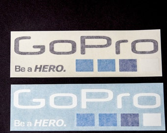GoPro Vinyl Decal Sticker (Buy Two Get One Free)