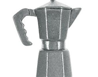 Espresso Pot Lapel Pin - CC205