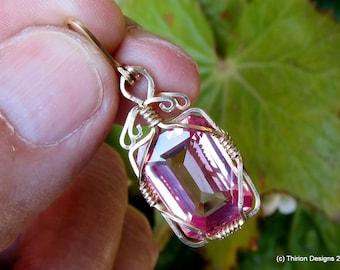 sapphire pendant sapphire jewelry sapphire necklace