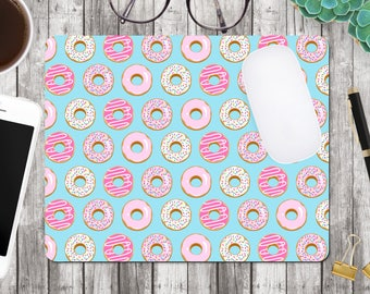 Mouse Pad Donut  - Mousepad - Mouse Mat - Office Accessories - Desk Accessories - Desk Mouse pad - Coworker Gift - MP0013