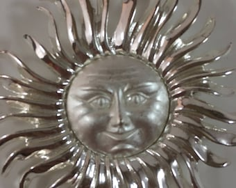 Monet Sun Brooch
