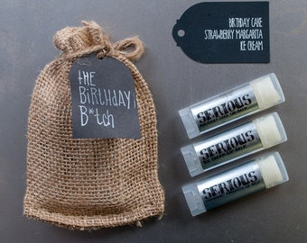 The Birthday B*tch Serious Lip Balm Bundle - 3pack