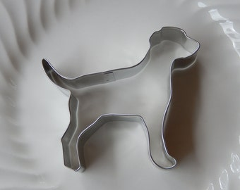 """Labrador Retriever Dog Cookie Cutter - 5"""" Metal Cutter Made in the USA - For Cookies - Dog Biscuits - Fudge - Crafts - Playdough"""