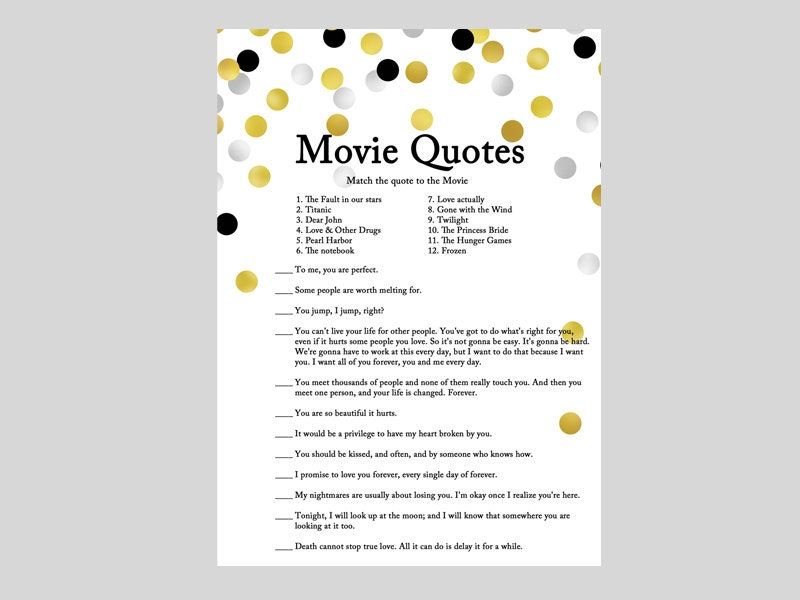 movie quote game famous love quote quotes from movie