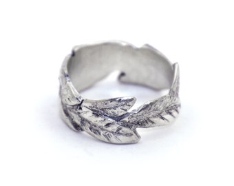Leaf Wrap Ring