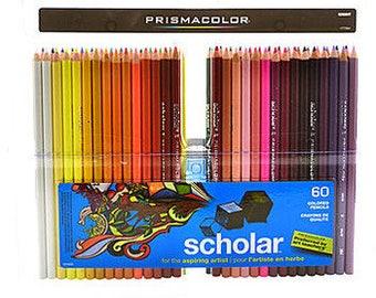 Prismacolor Scholar Art Pencils (set of 60)