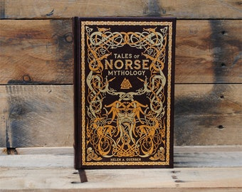 Hollow Book Safe - Tales of Norse Mythology - Leather Bound
