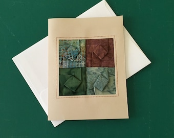 Origami Fiber Art All Occasion Gift Cards