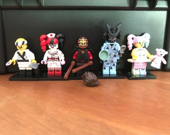 Exclusively for Lindi- Four Lego Batman and Ninjago soaps in light colors plus Sushi Guy not in soap