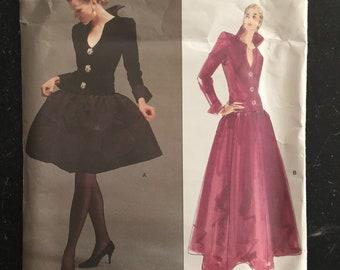 Givenchy Vogue Paris Original Sewing Pattern # 2583 Uncut Size 6-8-10