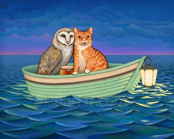 Image result for the owl and the pussycat