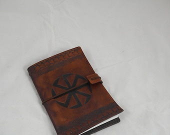 Kolovrat leather re-usable notebook A6
