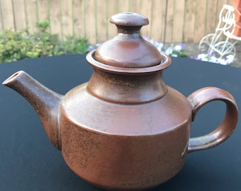 Vintage Earthy Teapot with Lovely Patina