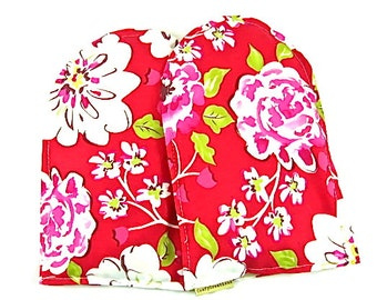 Arthritis Hand Warmers Hand Therapy Arthritis Wrist Pain Heat Packs Microwave Pack Gift Guide Red Floral