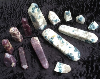 "New EUPHORALITE 40 Minerals!!! ""Rare Adeptogenic Stones"" REDUCE STRESS ~ #5"