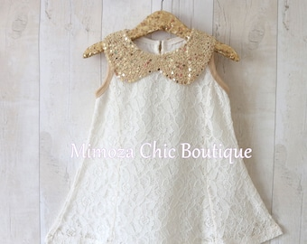 Flower Girl Dress, Girl Lace Dress, Country Lace Dress, Ivory Lace Dress, Rustic flower girl dress, long sleeve lace dress, Shabby chic