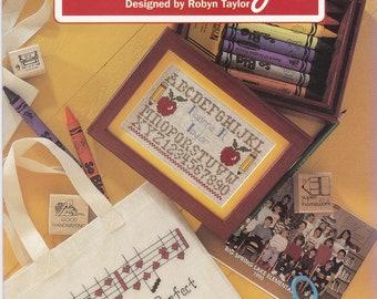 School Days Cross Stitch Leaflet Designed by Robyn Taylor