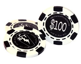Monogrammed Custom Poker Chips
