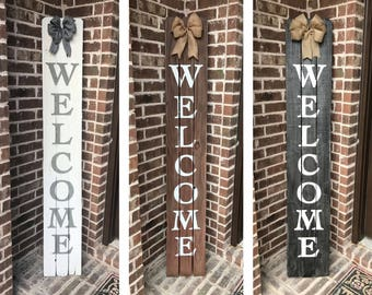 Rustic Home Decor Sign, Rustic Sign, Welcome Home Sign, Home Decor, Rustic Decor, Wood Welcome, Reclaimed Wood Sign, Porch Decor, Entry Sign