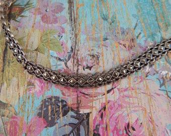 Marcasite Bracelet, Sterling Silver Bracelet, Art Deco Style Sterling Silver Marcasite Bracelet