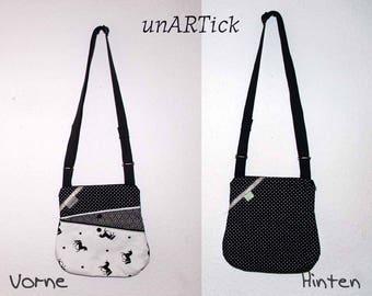 ZickyZackyBag, handbag, shoulder bag, Unicorn