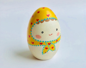 Egg Doll - Yellow (Small)