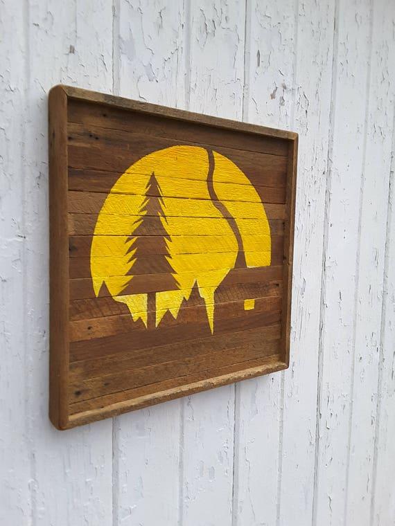 Exelent Wood Pine Tree Wall Decor Component - Wall Art Design ...