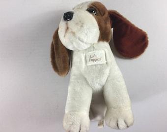 "Hush Puppies Plush Bassett Hound Stuffed 12"" Puppy Toy Floppy Ears Wolverine"