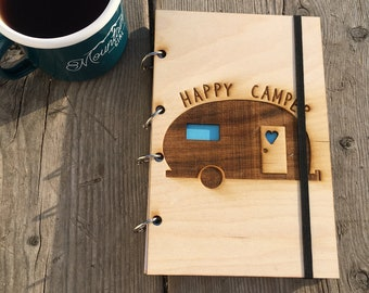 Happy Camper Refillable Journal