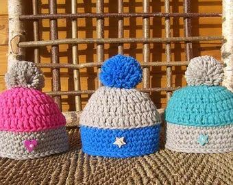 "Crochet Hat Kit ""ti"" thumb """