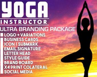 YOGA Instructor, YOGA Teacher, Branding Package, Marketing Package, Business Cards, Branding Kit, Marketing Kit, Brand Package