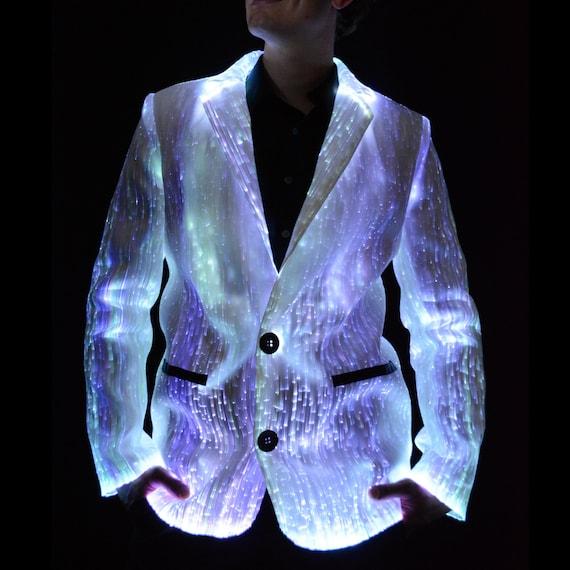 LED Suit Jacket Light Up Suit Jacket Unique Tuxedos