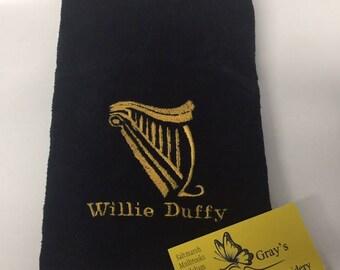 Personalised golf/pool/snooker towel