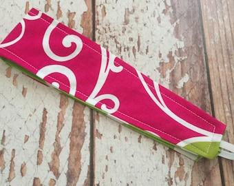Reversible Fabric Headband -  Toddler Girl, Little Girl, Tween  - READY TO SHIP