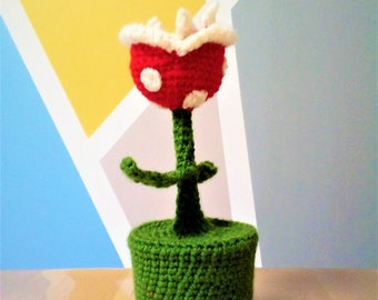 carnicore crocheted piranha plant