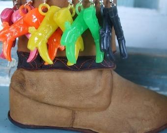 Cowboy Boots Earrings Kawaii Cuties