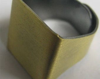 19 * 20mm bronze ring, bronze metal, set of 10 Pcs