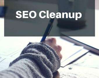 SEO Cleanup - Website Optimization - Product Revisions