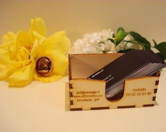Box slide 1753 customizable business card