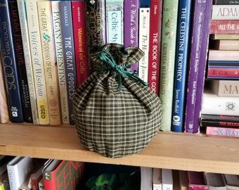 My Pretty Dice Bag - August Plaid Edition